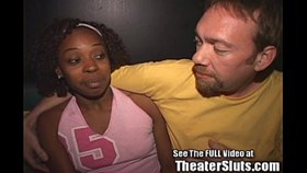 ebony nina gets an anal creampie wfull facial in a public tampa sex theater