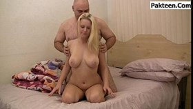 stacked blonde gets banged and creampi