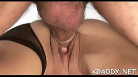 dirty minded young is often having sex an aged man she likes