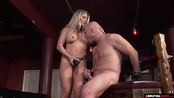 femdom whips and scans straight to anal creampie