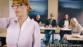 brazzers - big tits at school - the substitute slut scene starring penny pax and jessy jon
