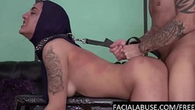 hard doggy ampamp water torture for arab cunt