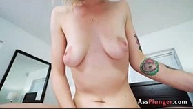 analsex with aubrey adore - anal creampie youngie