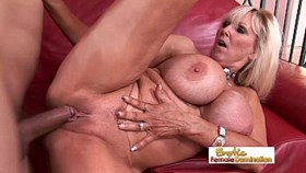 fit granny finally gets her old shaved pussy fucked hard aga