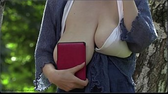 real huge boobs saggy in public