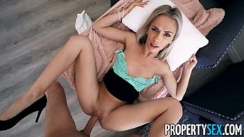 propertysex chic blonde immobilien agent bangs her sister fianceacute