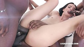 megan venturi still enjoys black cocks in the ass iv343