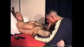 vinnie gives straight soldier boy a blowj