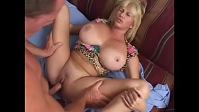 a young cock for a cougar