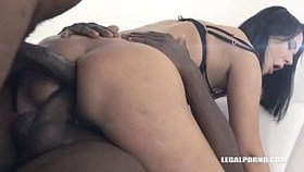 fiery slut angie moon is back to test 2 black cocks in her ass