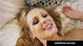 hot step mother julia ann gets nude ampamp naughty with step son!