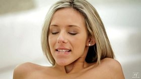 nubile films - busty young pussy stuffed with hard di