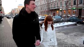 casual young sex - warm sex rosanna on a cold winter d