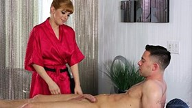 redhead penny pax likes massage and anal sex
