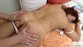 Granny got fucked after massage - Red Ma