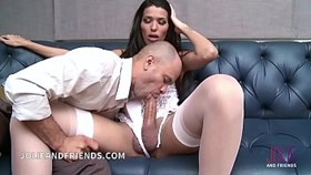 Stunning TS fuck and get fucked by guy, complete fuck